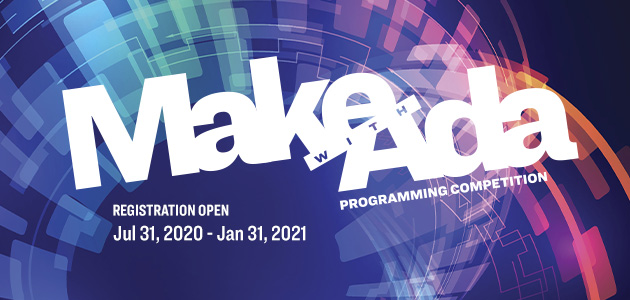 AdaCore to launch 5th annual Make with Ada programming competition tomorrow